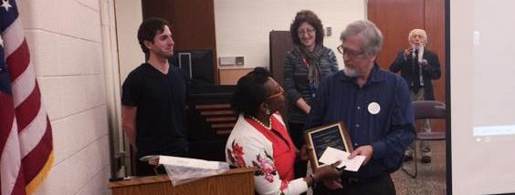 WCCFT honors adjunct faculty member Dr. Alan Trevithick