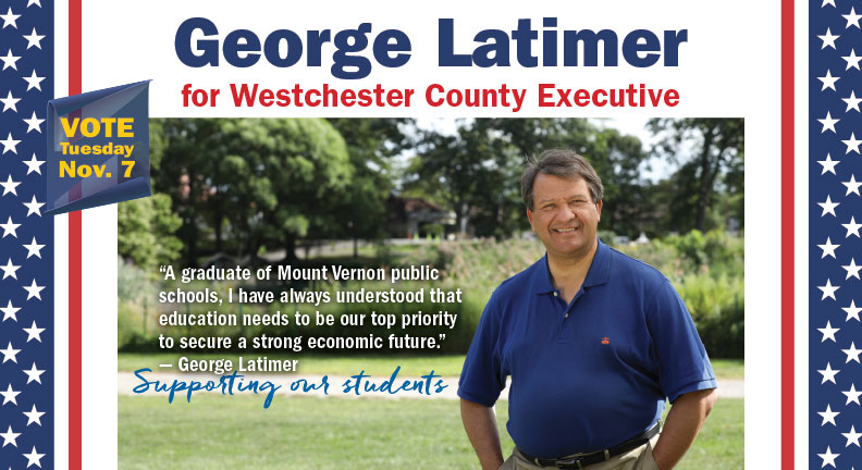 Elect George Latimer for Westchester County Executive